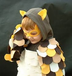 Handmade owl costume...what Camp wants to be for Halloween