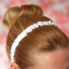 Downton DIY Headband -  For you or other fans of the hit program, add this Downton DIY Headband to your list of easy-to-make gifts. Free vintage sewing patterns like this one look like an heirloom but can in fact be made from a ribbon and serger. This DIY headband is reminiscent of styles that have sailed through centuries. Whether you're dressed up or down, this sewn accessory will top your ensemble off with a romantic touch, and it only takes under an hour to make.