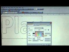 Create appliques using Microsoft Word