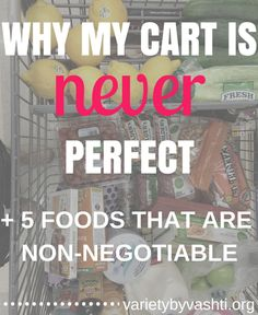 My cart Is never per