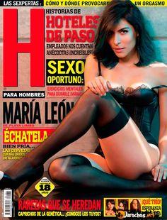 Maria Leon Revista H Mexico Agosto 2013 | FamosasMex