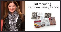 Introducing Boutique Sassy Fabric -- now with new colors!