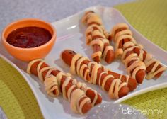 Recipe for Your Ghouls: Veggie Mummy Dogs