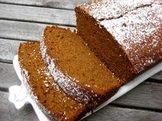 Sweet Potato Gingerbread Loaf