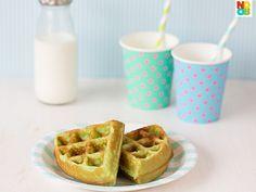 Pandan Waffles Recipe