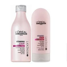 L'Oreal Professionnel Paris Vitamino Color Shampoo & Conditioner; ahhhh the smell!