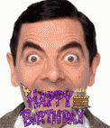 Postal de cumpleaños con efecto glitter personalizable con tu foto www.fotoefectos.com