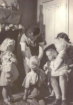 1940s Children.