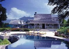 Strawberry Hill Resort in Irish Town, Jamaica at Hotels of the Rich and Famous