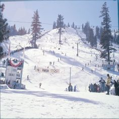 The largest group yet gathered to see a winter sports program in America convened on February 22, 1960 as over 47,000 spectators packed into Squaw Valley.