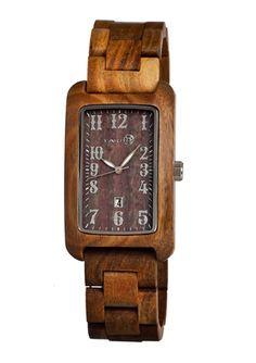 EARTH Unisex Bark Wood Watch $69.99