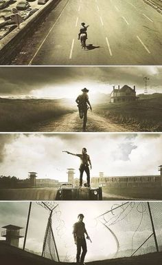 The Walking Dead. Rick Grimes.