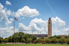 #LSU in the summertime.