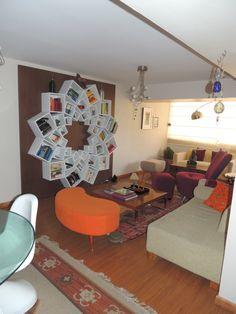 "Mandala Bookshelf from #DIY user ""veronik33"" >> http://diy.roomzaar.com/rate-my-space/Living-Rooms/Mandala-Living/detail.esi?oid=30292763=pinterest#"