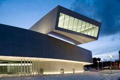 MAXXI National Museum of XXI Century Arts by Zaha Hadid Architects