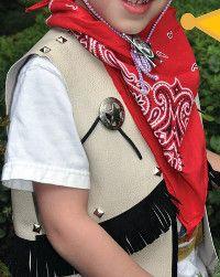 Homemade Cowboy Costume