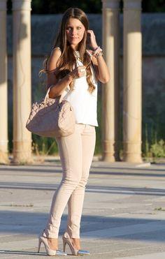 Looks con pantalones rosa palo - Trendtation