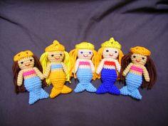 Ravelry: Little Mermaid, free Amigurumi crochet pattern pattern by Sayjai Thawornsupacharoen
