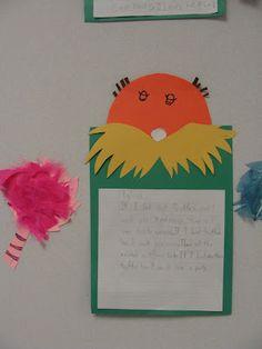 Dr. Seuss writing activities.