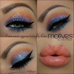 Glitter look !
