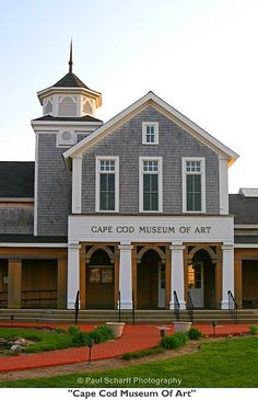 Cape Cod Museum Of Art    This is a sample photo from my professional website, www.paulscharffphotography.com. On the site you'll see many additional photos, learn how to order books by Paul Scharff, find out more about Paul Scharff's photography services, get free wallpaper of your favorite images, and find out how to see Paul Scharff's Photo of the Day.