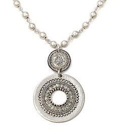Jessica Simpson Medallion necklace