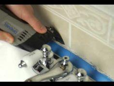 The Dremel Multi-Max simplifies the popular DIY task of removing caulk.