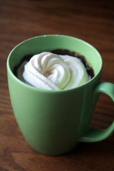 Gluten free mug brownie