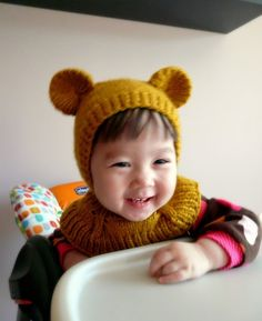 Honey Bear Coverall Hat