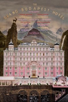 Wes Anderson's newest grand budapest, di wesanderson, wes anderson, hotel movi, budapest hotel, inspir, thegrandbudapesthotel di, posters, hotels