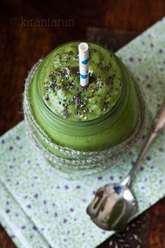 Avocado and kale smoothie