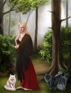 joy-and-happy:    Freyja, norse goddess.