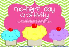 *See my Mother's Day and Father's Day Craftivities Combo. Pack to get both products for a cheaper cost!*Includes:-Three pictures of the three...