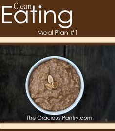 Clean Eating Meal Plan #1 #cleaneating #eatclean #mealplans #cleaneatingmealplans