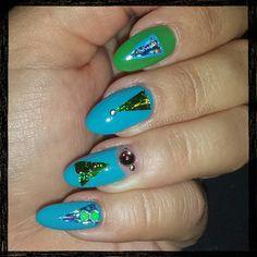 Atlantean Shellac by beautopianails - Nail Art Gallery nailartgallery.nailsmag.com by Nails Magazine www.nailsmag.com #nailart