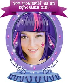 This is fun...Ponify yourself to look like My Little Pony Equestria Girls!