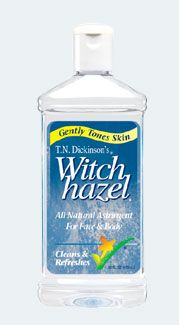 witch hazel + olive oil = the only eye makeup remover you'll ever need. witch hazel + white vinegar + distilled water = instant toner.