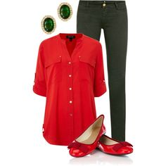 Ruby & Emerald by qtpiekelso on Polyvore