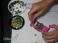 How to 3D Bling your CELLPHONE CASE!!