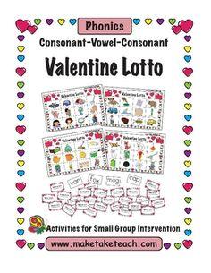 FREE CVC Valentine Lotto Game!