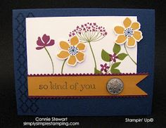Summer Silhouettes thank you card.