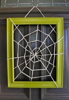 Spider Web Frame!