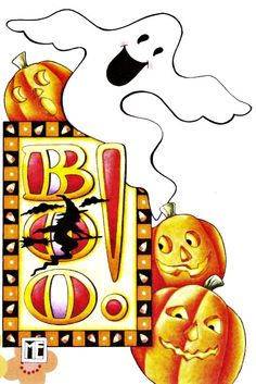 Boo! by Mary Engelbreit print