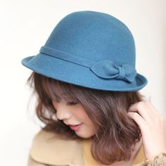 Fall and Winter New Fashion 100% Wool Classic Hat