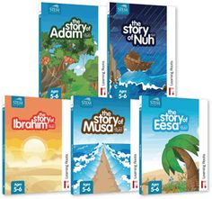 stories of the prophets by learning roots! I am using these books as part of our Islamic Studies.
