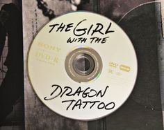 The Girl With The Dragon Tattoo    Yes, Sony designed the DVD to look like a pirated disc. Brilliant, hat tip to you Sony!