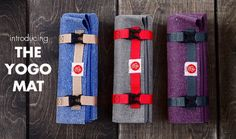 100% biodegradable yoga mat that fits anywhere...so awesome! http://bit.ly/1lzW6MA