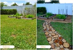 DIY: create a natural outdoor pathway