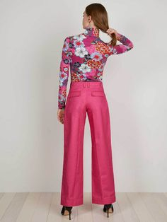 Tracee Pant | Pop Pink | THE KIT