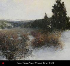 Karen Vance , Artists, Oil Painters, Oil Paintings, Contemporary American Artist
